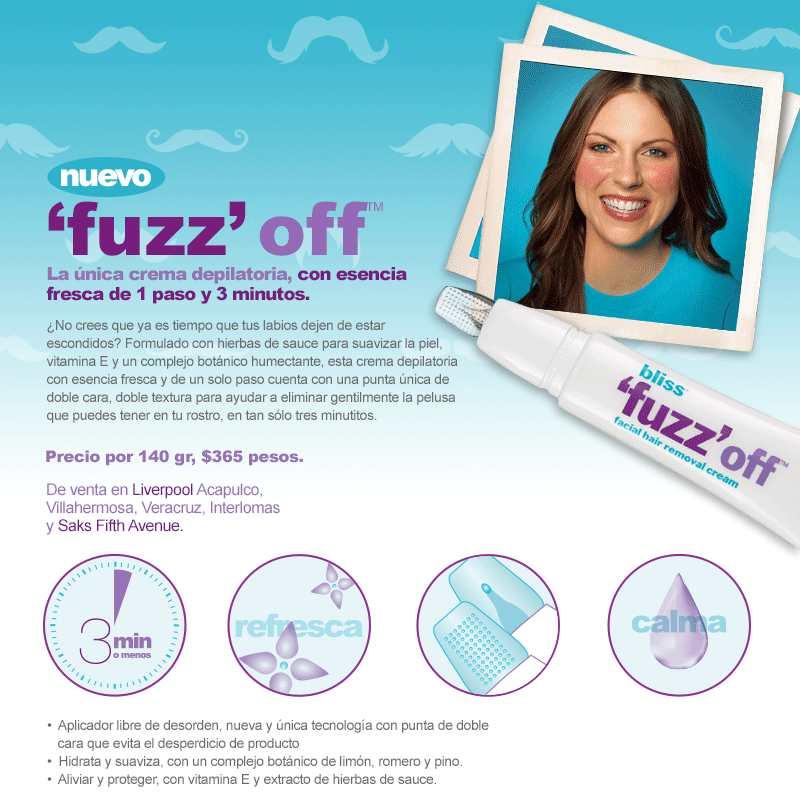 Nuevo 'Fuzz off' de Bliss