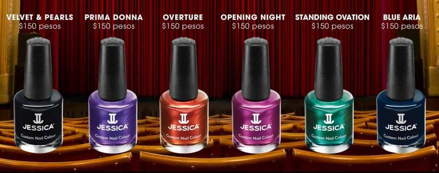 A Night at The Opera by Jessica Cosmetics